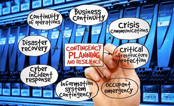 Between Business Continuity Planning and Disaster Recovery