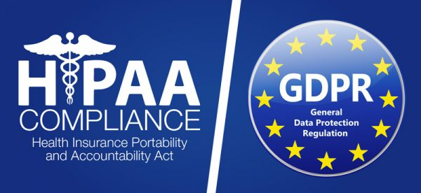 GDPR Compare to HIPAA