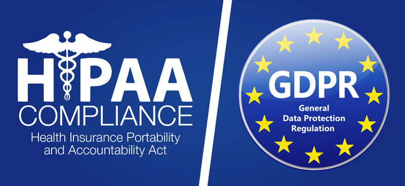 How Does GDPR Compare to HIPAA?