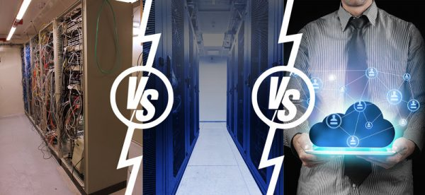 On-Premise vs. Colocation vs. Cloud