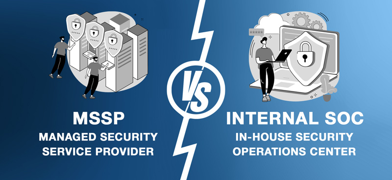 Managed Security Service Provider vs. In-House SOC